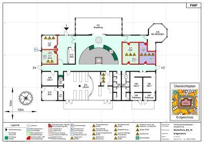 Muster Feuerwehreinsatzplan